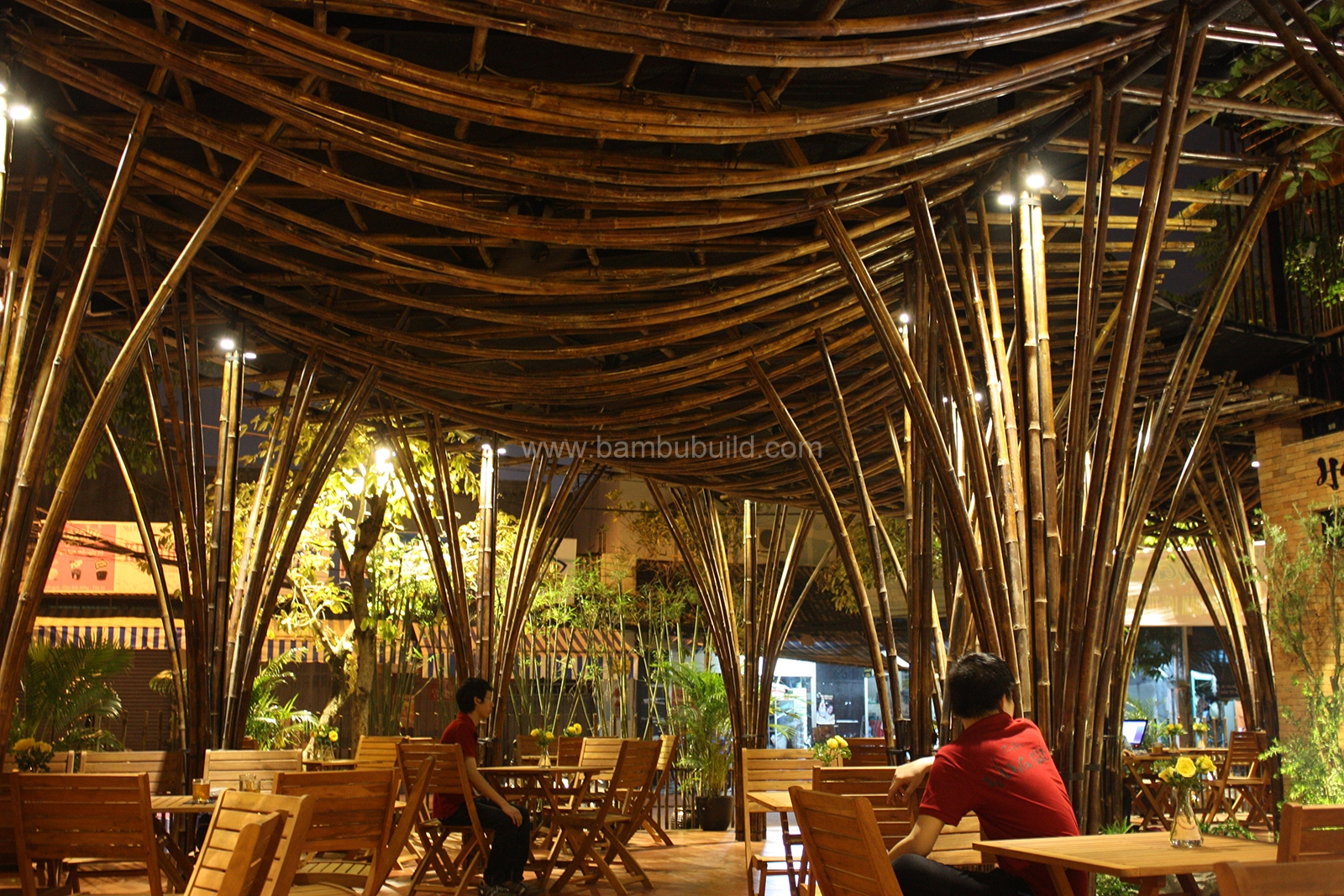 bamboo decoration - bamboo architecture