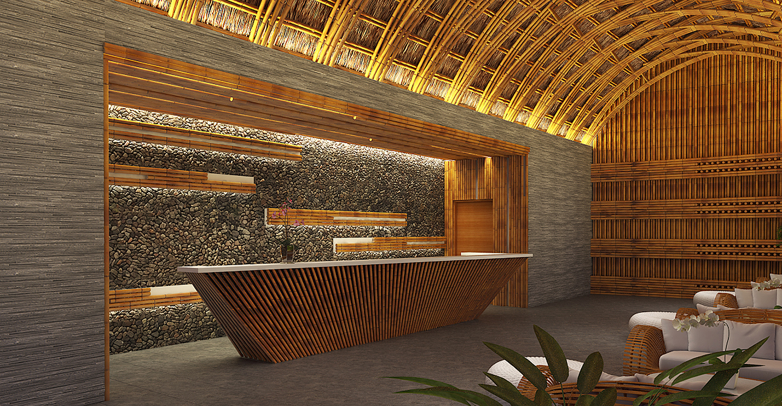U i m c a n i th t tre bamboo architecture - Bamboo designs for interior designing ...