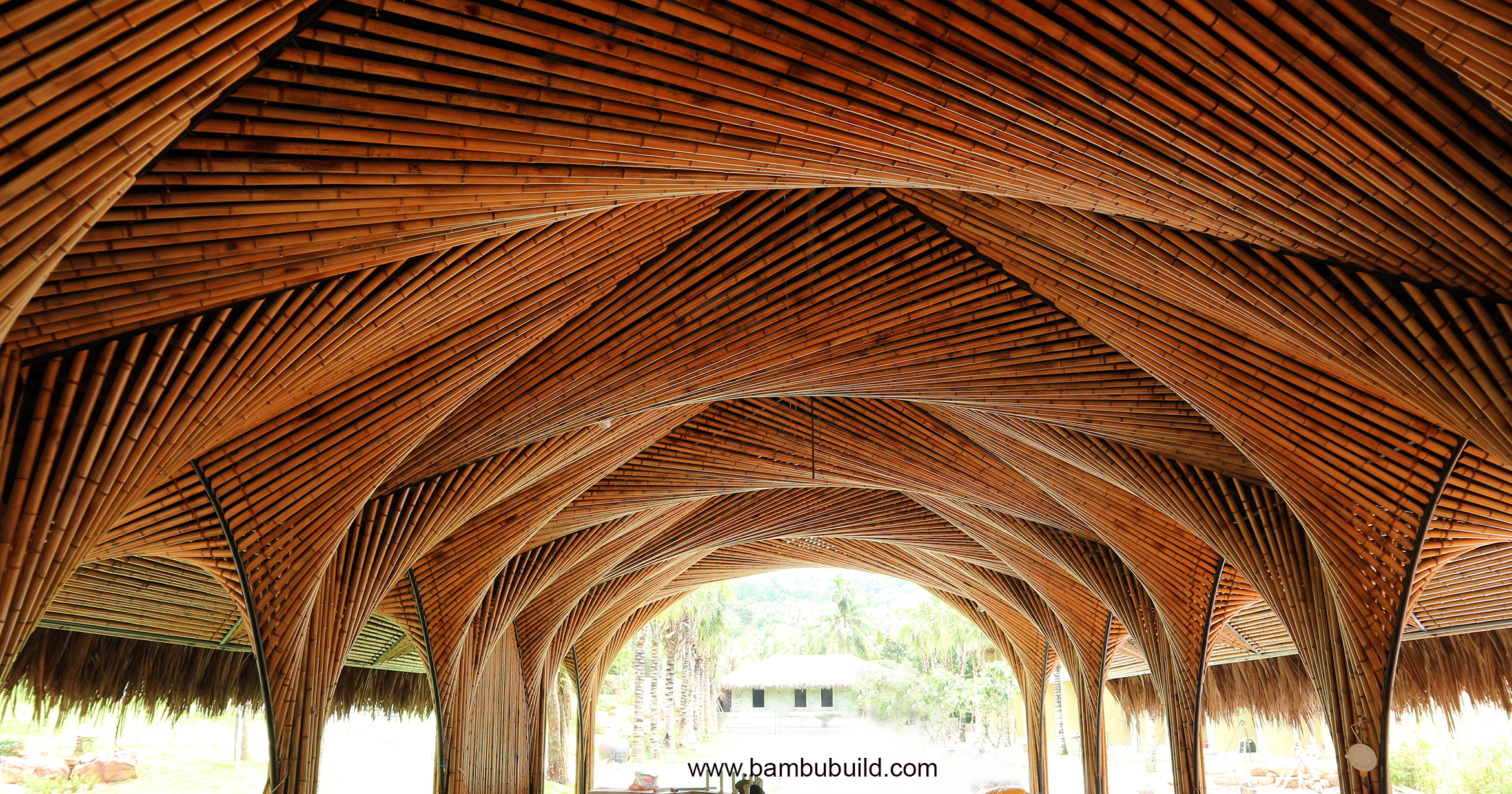 Bamboo architecture in Phu Quoc