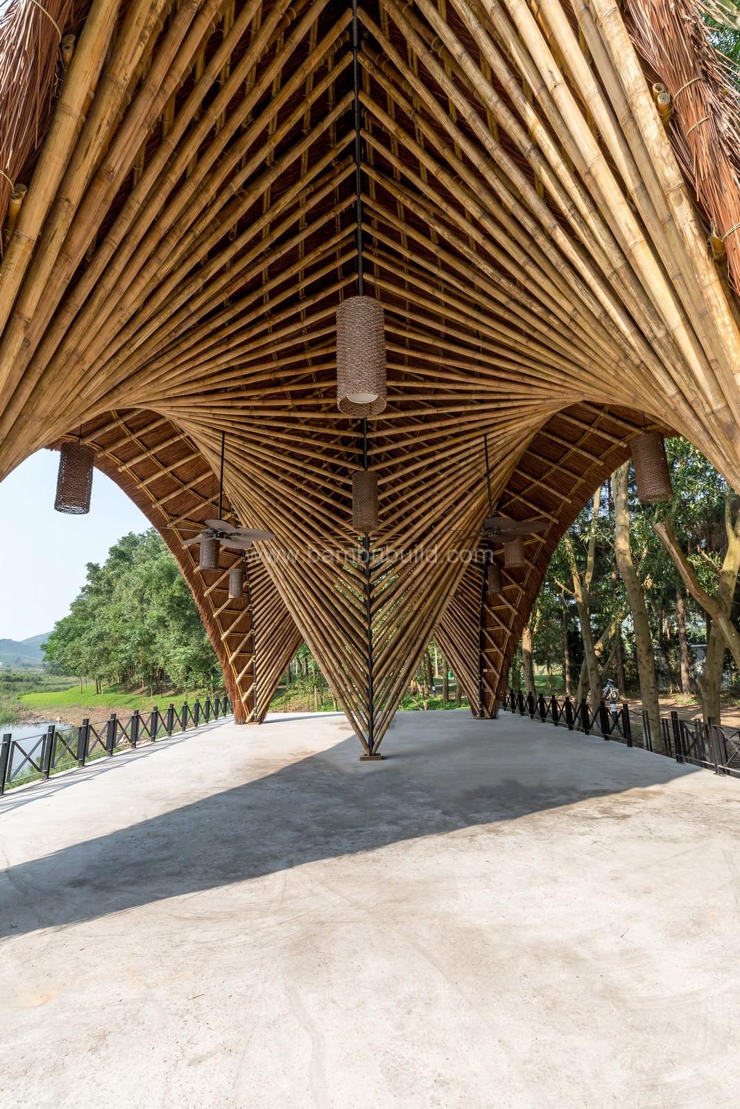 Flamingo Pavilion Bamboo Architecture