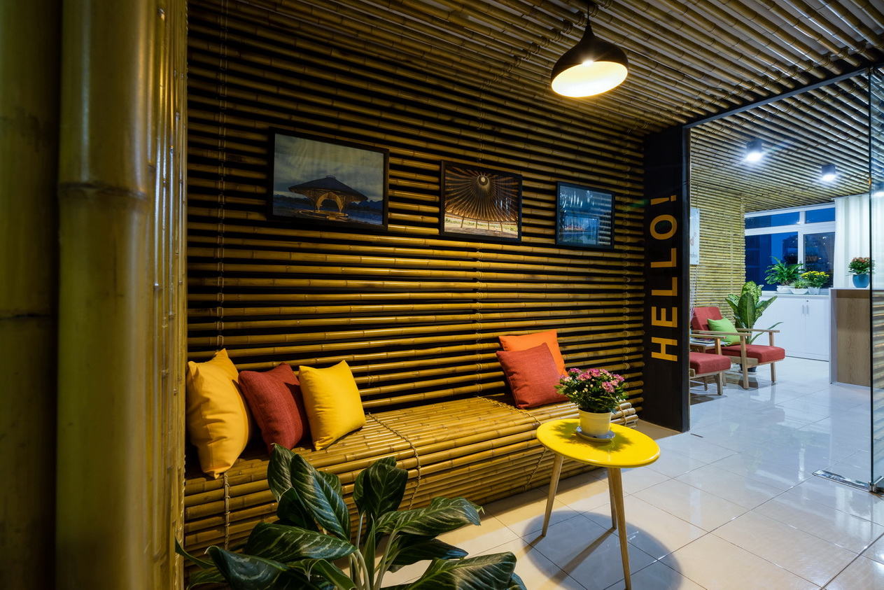 Bamboo wall bamboo architecture - Bamboo designs for interior designing ...